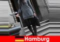 Phụ nữ thanh lịch ở Hamburg chăm sóc du khách với dịch vụ hộ tống kín đáo