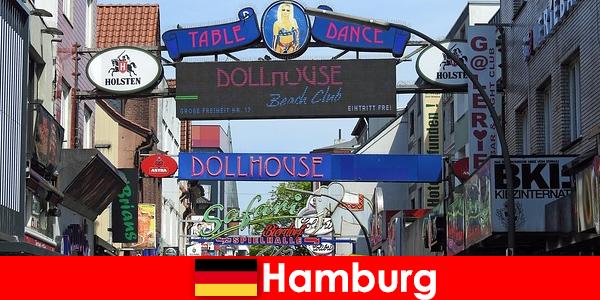 Hamburg Reeperbahn-cuộc sống về đêm và dịch vụ hộ tống cho du lịch tình dục