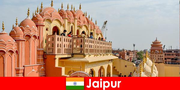 Cung điện Ấn tượng và thời trang mới nhất Tìm khách du lịch ở Jaipur của Ấn Độ