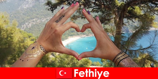 Kỳ nghỉ trên bãi biển ở Thổ Nhĩ Kỳ Fethiye cho trẻ và già luôn là một giấc mơ