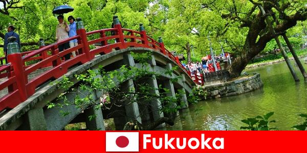 Fukuoka là một bầu không khí thoải mái và quốc tế với chất lượng cuộc sống cao cho người nhập cư