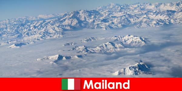Milan một trong những khu nghỉ mát trượt tuyết tốt nhất cho du khách ở ý
