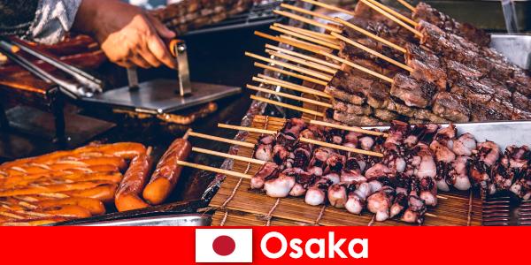 Osaka là món ăn của Nhật bản và một điểm liên lạc cho bất cứ ai đang tìm kiếm một kỳ nghỉ phiêu lưu