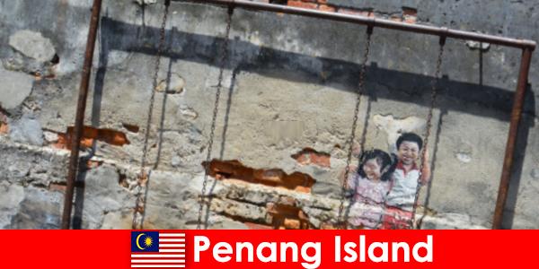 Nghệ thuật đường phố hấp dẫn và đa dạng ở đảo Penang khiến người lạ ngạc nhiên