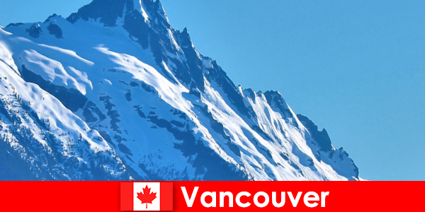 Thành phố Vancouver ở Canada là mục tiêu chính của du lịch leo núi