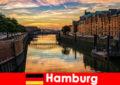 Vẻ đẹp kiến trúc và giải trí cho kỳ nghỉ ngắn ở Hamburg Đức