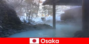 Osaka Nhật Bản cung cấp cho khách spa tắm trong suối nước nóng