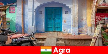 Chuyến đi nước ngoài đến Agra Ấn Độ trong cuộc sống làng quê