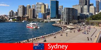 Toàn cảnh thành phố Sydney Australia dành cho du khách từ khắp nơi trên thế giới