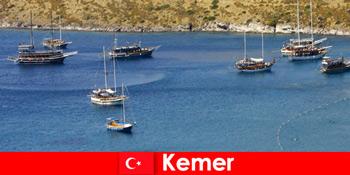Chuyến đi phiêu lưu bằng thuyền ở Kemer Thổ Nhĩ Kỳ cho các cặp vợ chồng và gia đình đang yêu