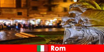 Tour xe buýt cho khách hàng tuần qua thành phố Rome Ý tuyệt vời