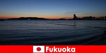 Tour du lịch khu vực với các nhóm thông qua Fukuoka Experience thành phố xinh đẹp của Nhật Bản
