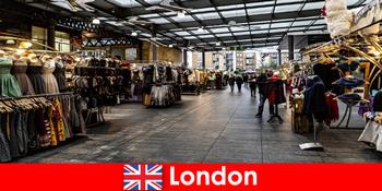 London England là địa chỉ hàng đầu cho khách du lịch mua sắm