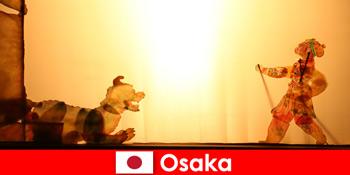 Osaka Nhật Bản đưa khách du lịch từ khắp nơi trên thế giới vào một hành trình giải trí hài hước