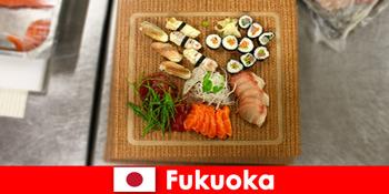 Fukuoka Nhật Bản là một điểm đến phổ biến cho du khách ẩm thực
