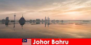 Đặt phòng khách sạn cho khách du lịch ở Johor Bahru Malaysia luôn ở trung tâm thành phố